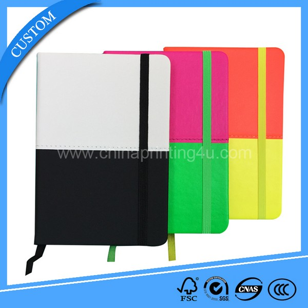 2018 Top Sale New Design Office & School PU/PVC Leather Cover Notebook